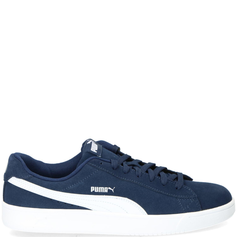 Donkerblauwe Sneakers Puma Court Breaker Derby